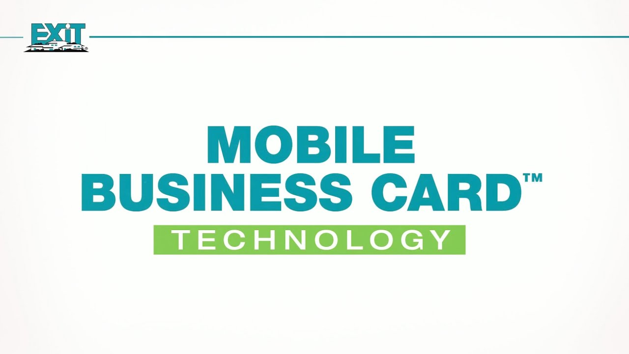 Exit realtys technology mobile business cards youtube exit realtys technology mobile business cards colourmoves