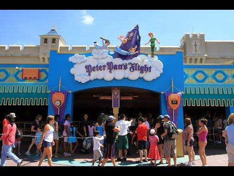 Peter Pan's Flight Complete Experience HD Magic Kingdom Walt Disney World