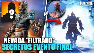 SKIN NEVADA *FILTRATE* FINAL EVENT REVEALED! SEASON 8 *SECRETS* FORTNITE BATTLE ROYALE