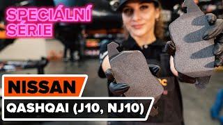 Jak vyměnit předních brzdové destičky na NISSAN QASHQAI (J10, NJ10) [NÁVOD AUTODOC]