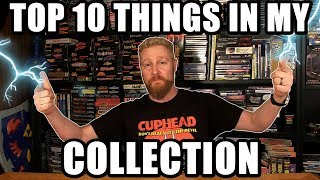 TOP 10 THINGS IN MY COLLECTION - Happy Console Gamer