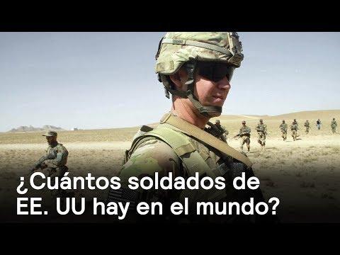 ¿Cuántos soldados de EE. UU hay en el mundo? - Foro Global