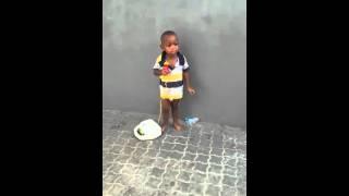 Melvin singing Bue Kwan   by Kwabena Kwabena