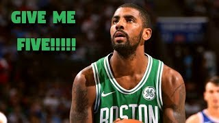 NBA RAREST 5 POINT PLAYS