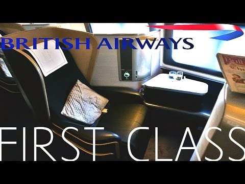 British Airways FIRST CLASS London To Los Angeles|Boeing 777-300ER