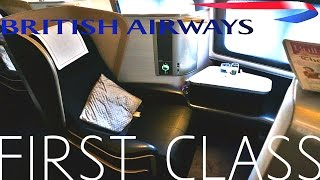 British Airways FIRST CLASS London To Los Angeles TRIP REPORT|777-300ER