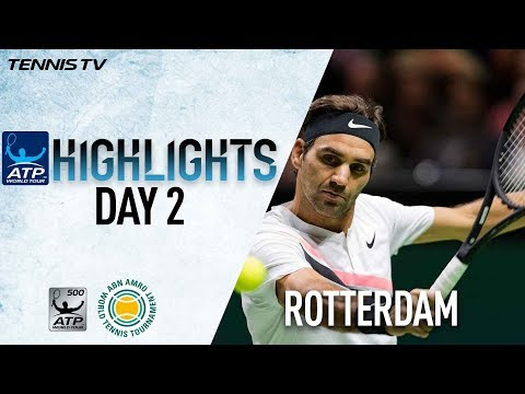 Day 2 Highlights: Roger's Having Fun Chasing No. 1 In Rotterdam