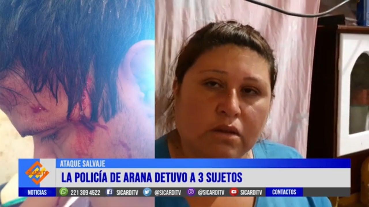 10 hombres atacaron salvajemente a un vecino de Arana