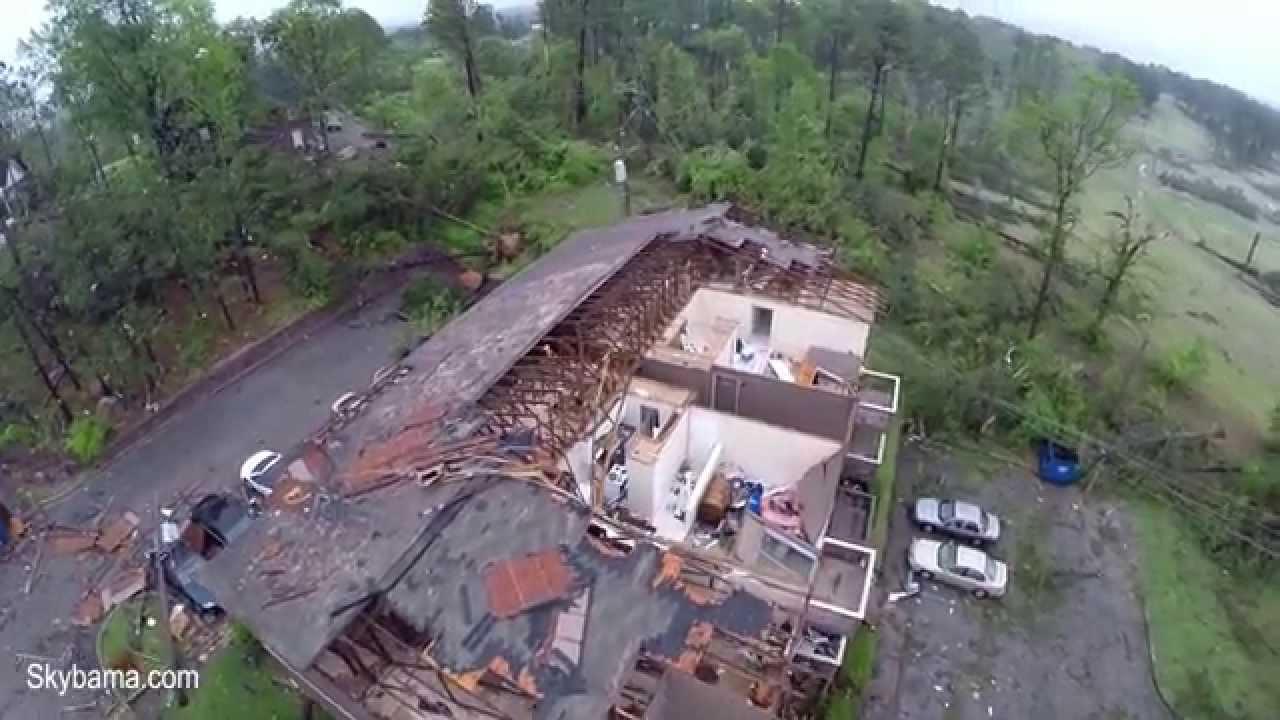 Timberline Apartments Bessemer AL Tornado Damage YouTube
