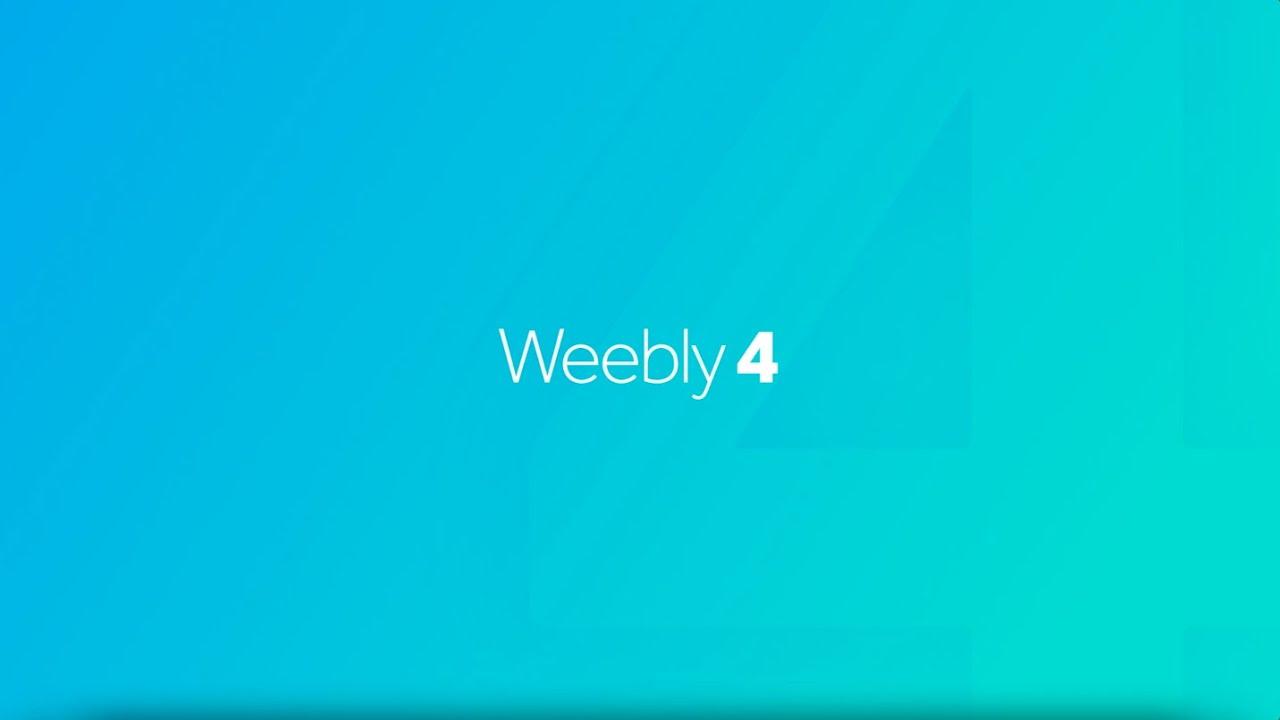 Introducing Weebly 4