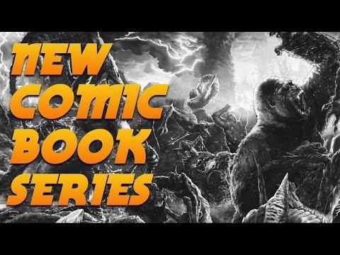 NEW KONG COMIC BOOK SERIES!!!