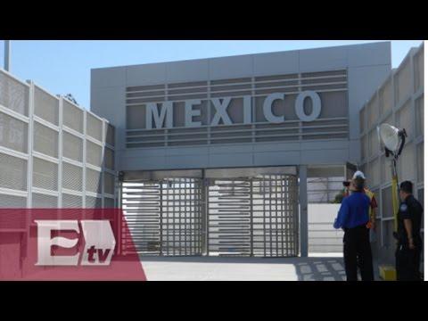 Inauguran cruce peatonal en la frontera de Estados Unidos y Tijuana /Titulares de la Noche