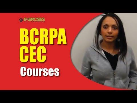 BCRPA CEC Courses