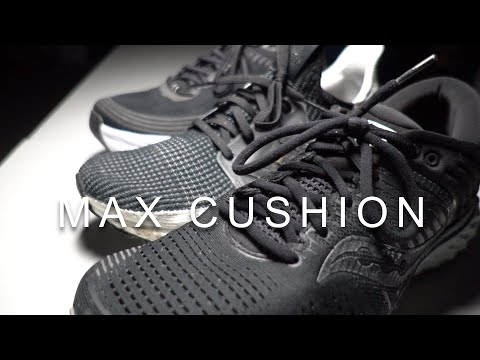 Max Cushion Comparo Triump 17 vs Bondi 6 vs Ultraboost 19 (vs 1080v10)