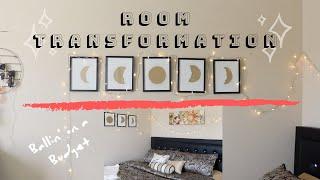 room transformation (UNDER $300)