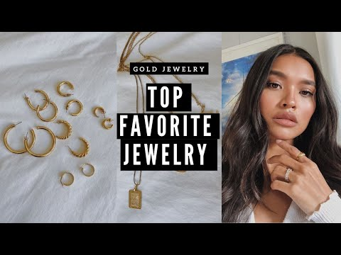 MY GO-TO EVERYDAY JEWELRY PIECES! GOLD JEWELRY COLLECTION   NICOLE ELISE