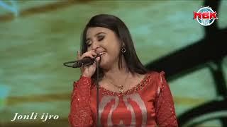 Dilnoza Akbarova - Omje jagdi shihare & Gal Gal, Kara goz (India & Azarbayjan music live) HD.