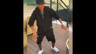 Jada Pinkett Smith Busts a Move in Budapest Video