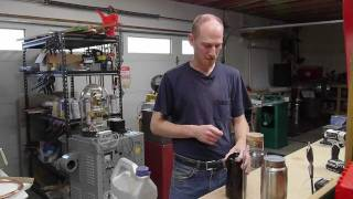 Supercritical CO2 caffeine extraction (negative result -- more work needed)