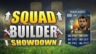 FIFA 15 SQUAD BUILDER SHOWDOWN!!! THE TOTS GULLIT!! Team Of The Season Marchisio Squad Building Duel
