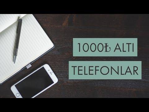 1000 TL Altı Telefonlar (Ağustos, 2018)