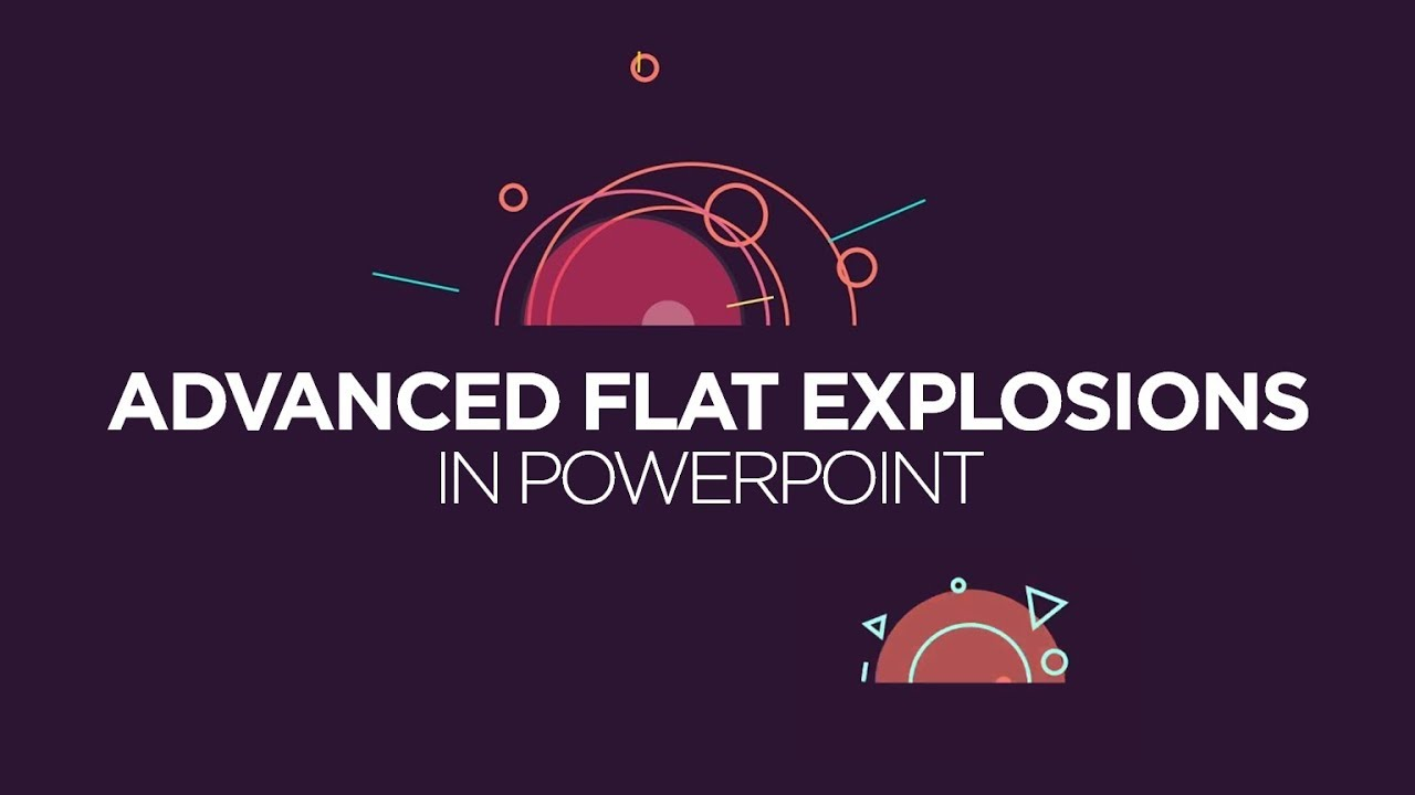 Advanced flat explosions in powerpoint motion graphics tutorial advanced flat explosions in powerpoint motion graphics tutorial toneelgroepblik Gallery