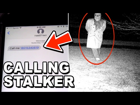CALLING MY STALKER'S PHONE NUMBER (THEY ACTUALLY PICK UP)