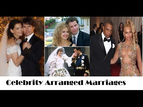 CELEBRITY ARRANGED MARRIAGES