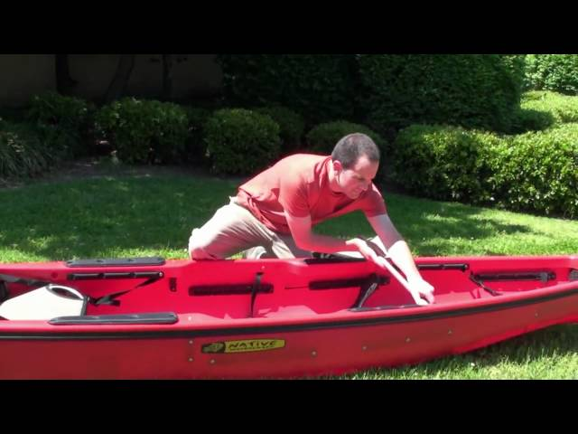 Converting the Ultimate 14.5 tandem into a solo kayak