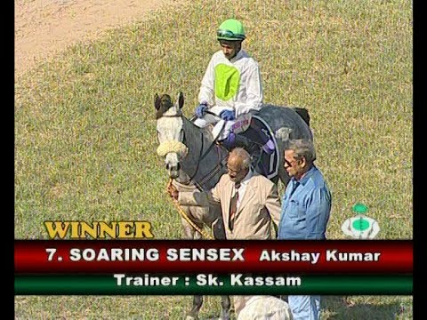 Akshay Kumar on Soaring Sensex wins The Secunderabad Club Plate Division 2
