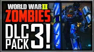 "Call of Duty WW2 Zombies DLC 3 ""The Tortured Path"" Revealed! Boss Zombie, Easter Egg Ending, 3 Maps"