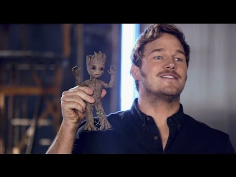 Thumbnail: Guardians of the Galaxy Vol. 2: Guns and Baby Groot from the Set