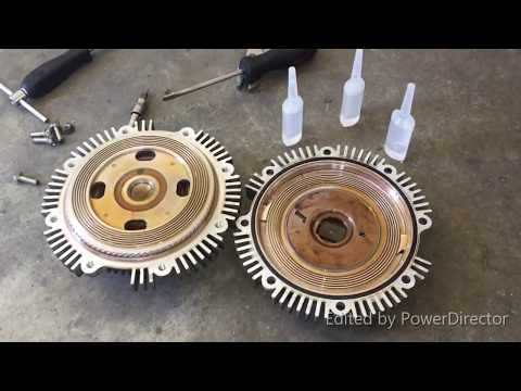 Engine overheat? How to refill silicone oil, slow radiator fan [ toyota isuzu mitsubishi nissan ]