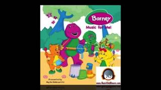 Barney Music CD - Personalized with your child