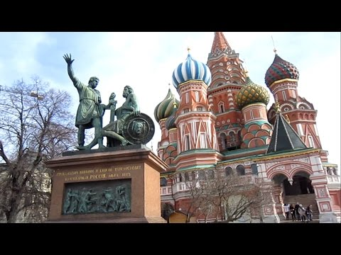 Saint Basil's Cathedral Moscow Red Square Full Tour Inside