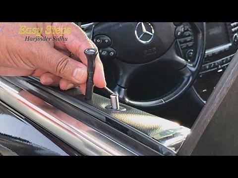 Genuine Mercedes AMG Round Door-Pin Stainless Steel
