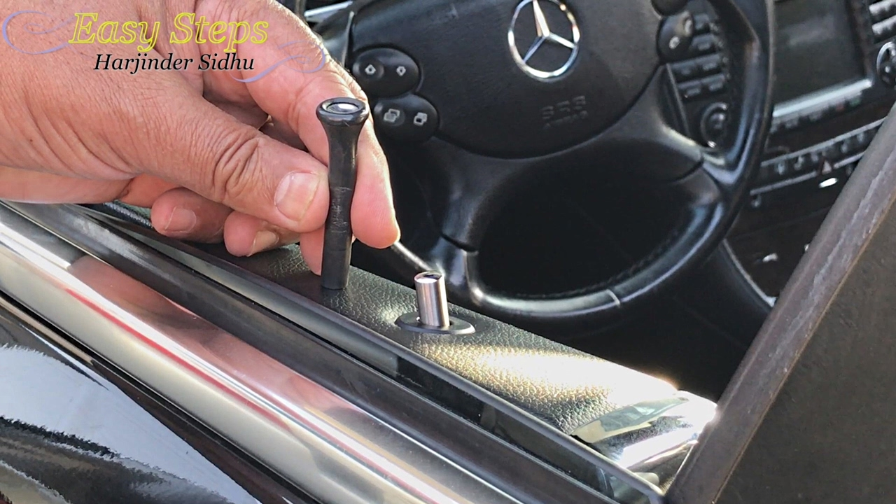 Replace Door Pins on Mercedes CLS55 with AMG Round Door ...