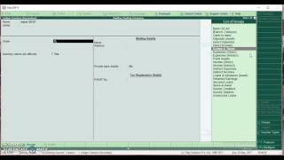 Implemenation of GST in Tally ERP 9 Part 1