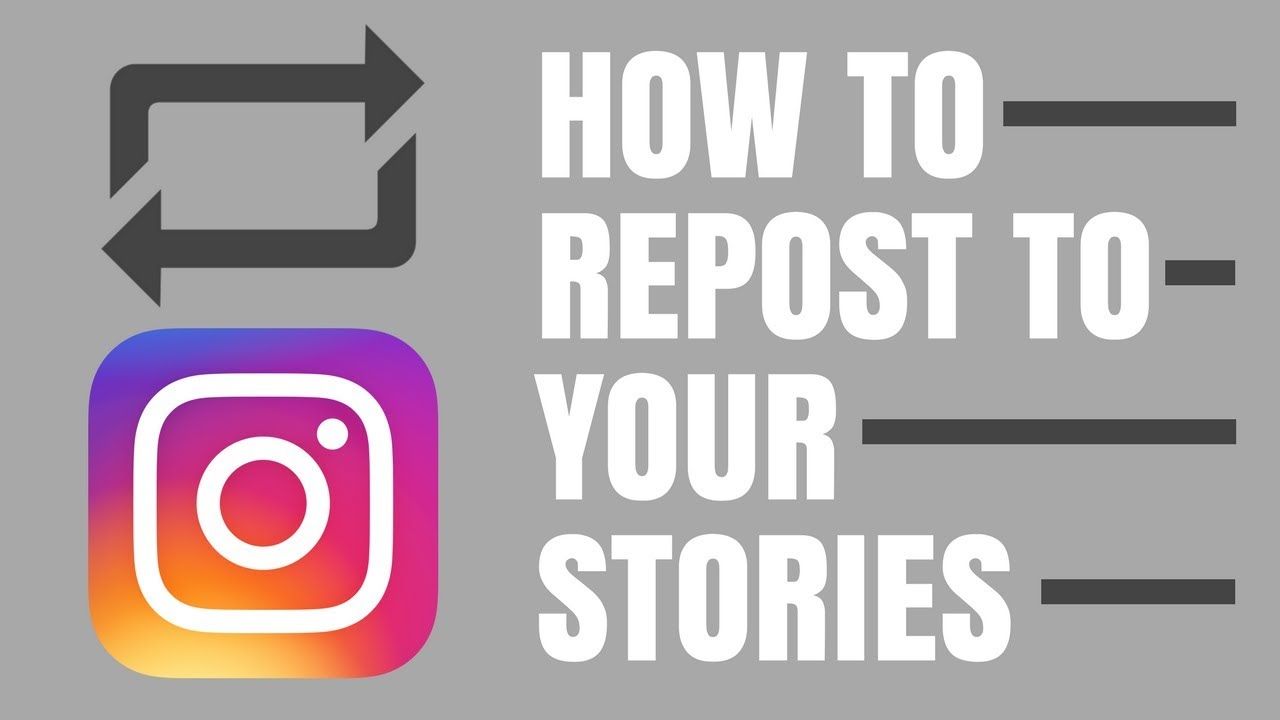INSTAGRAM REGRAM TO STORIES: HOW TO REPOST CONTENT FROM YOUR FEED TO YOUR  STORIES (NEW FEATURE)