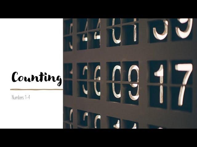 Counting · 210128 Thursday · Pastor Jerome Pittman