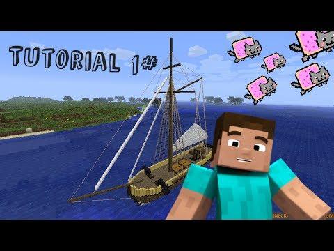 Cómo hacer un bote en Minecraft: 6 pasos (con fotos)