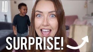 A HUGE SURPRISE! | AD