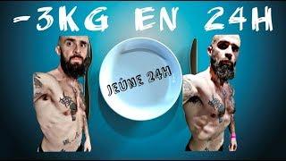 Perdre 3 kg en 24H avec le jeûne