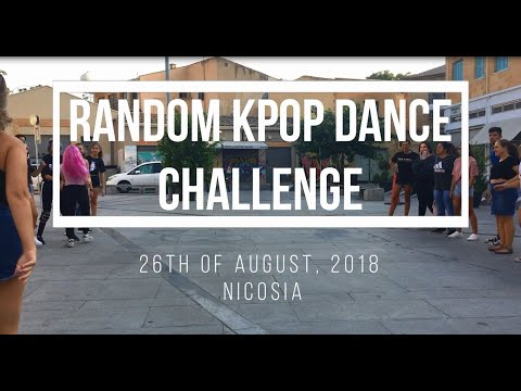 Random K-Pop Dance Challenge in Public Vol.2 // CYPRUS