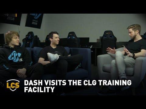 Dash Visits The CLG Training Facility