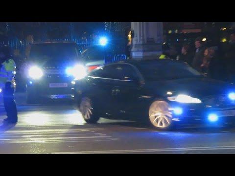 Metropolitan Police Special Escort Group Prime Minister Escort