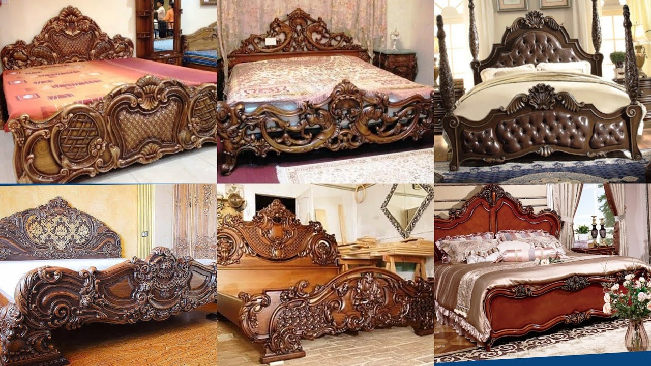 Latest Wooden Bed Ideas For Home Classy Traditional Wooden Bed Designs 2020 Wooden Furniture Youtube