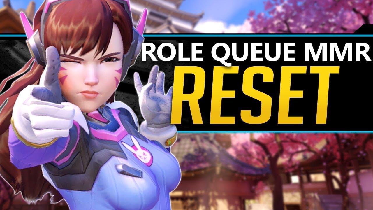 Overwatch Role Queue MMR Reset Details and Reward System