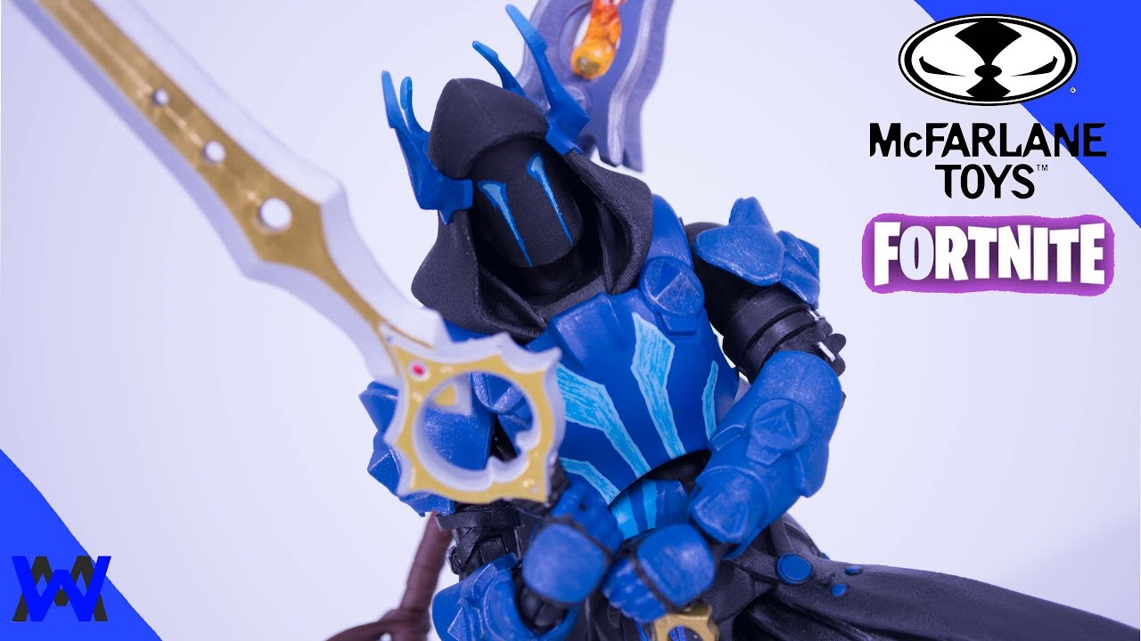 Mcfarlane Fortnite Ice King Toy Review