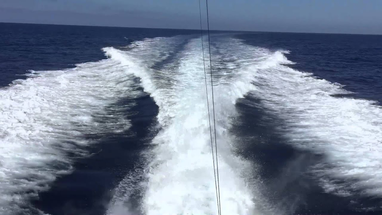 Viking Yachts 65 Power Yacht Running 28kts Down The Coast To San Diego CA By Ian Van Tuyl